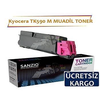Kyocera Tk 590 M Kýrmýzý Muadil Toner Kyocera Fs C2026 C2526 M6026 M6526
