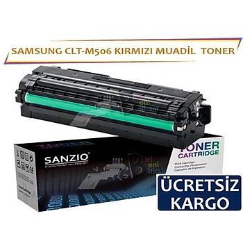 For Samsung Clt-M506 Muadil Toner Kýrmýzý CLP 680ND CLX 6260