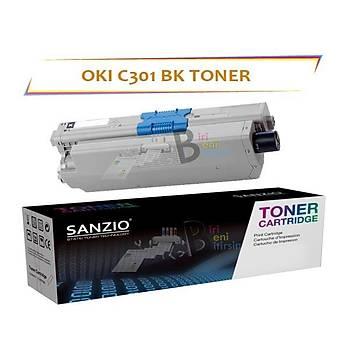 Oki C301 Siyah Muadil Toner C301 C321 MC332 MC342