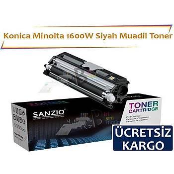 Konica Minolta 1600W Siyah Muadil Toner Fax 1600 1600E 2600 2800 3600 3800