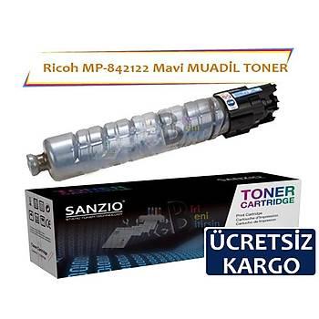 Ricoh MP C305SF Ricoh 842122 (841591) Cyan Mavi Muadil Toner MP C305SPF C305SP