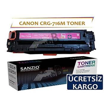 Canon Crg-716M Kýrmýzý Muadil Toner i-Sensys LBP5050 MF8050CN MF8030CN
