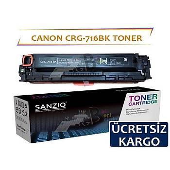 Canon Crg-716Bk Siyah Muadil Toner i-Sensys LBP5050 MF8050CN MF8030CN
