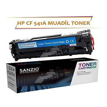 HP CF541A Çipsiz Mavi Muadil Toner HP PRO M254 M280 M281