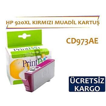 HP 920 XL Kýrmýzý Muadil Kartuþ CD973AE