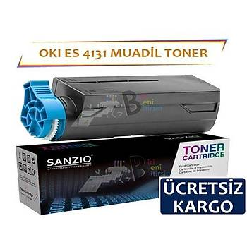 Oki ES4131 Muadil Toner 12.000 sayfalýk