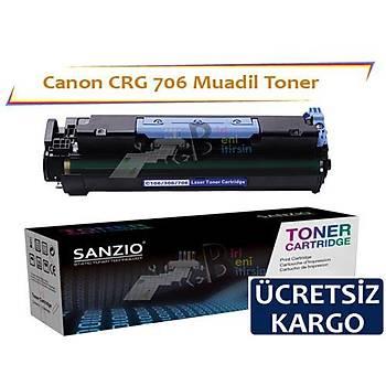 Canon Crg-706 Muadil Toner i-Sensys MF6530 MF6540PL MF6550 MF6560PL MF6580PL