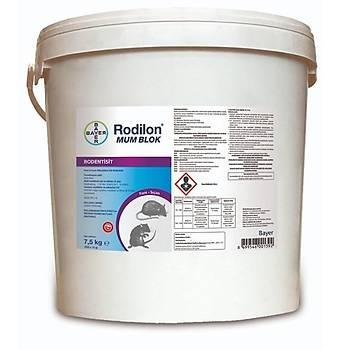 (7.5 KG) Bayer Rodilon Mum Blok Fare Zehirleri