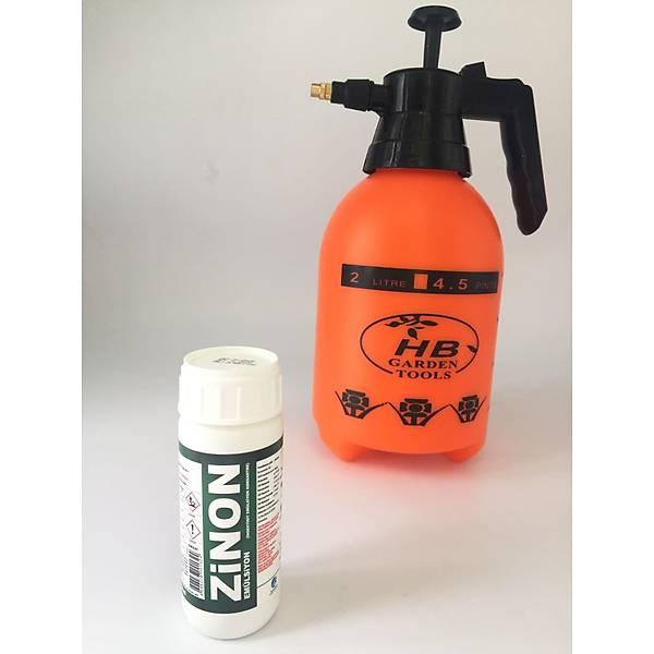 (100 ml) Zinon EC Kokulu Haþere Öldürücü + HB Mekanik El Pompasý 2 Lt ( Litre )