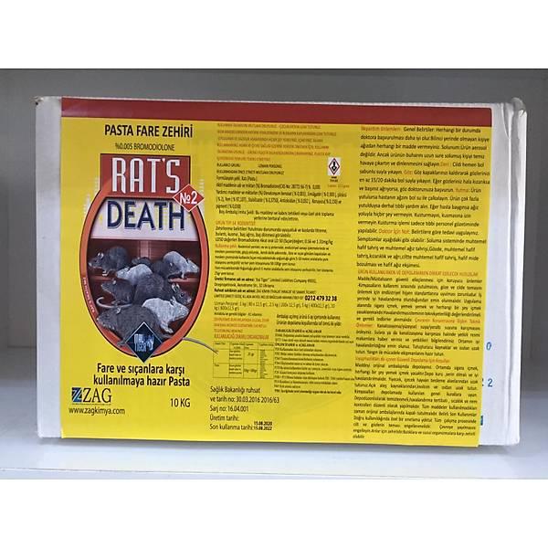 (10 KG) Rats Death Ev_Fýndýk Faresi Yemleri (Rats)
