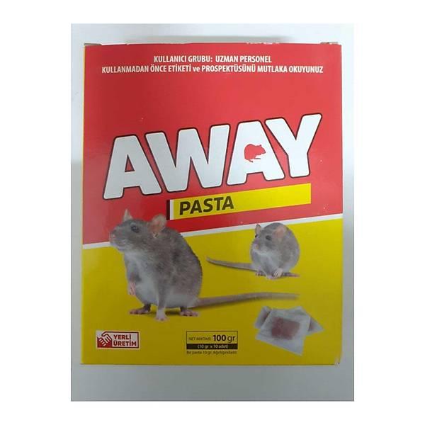 Away Pasta Fare Zehiri 3 x 100 G