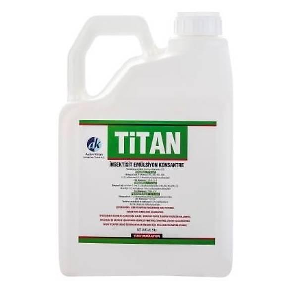 (5 Litre) Titan EC Kokulu PÝRE Öldürücü