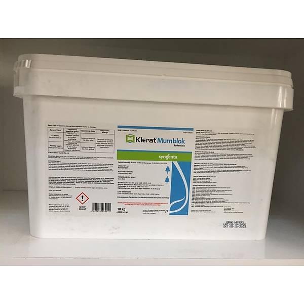 (10 KG) Klerat  Mum Blok Fare Zehirleri (5 gram bloklar)