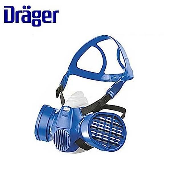 Drager X-Plore 3300 Yarým Yüz Gaz(M) + A1B1E1 Filtre Kombine Set