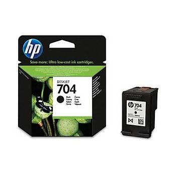 HP 704 Black Siyah Kartuþ CN692AE