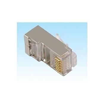 Frisby FNW-4522N Ftp Cat6 Metal rj45 Konnektör Network Kablosu 100 lü Paket