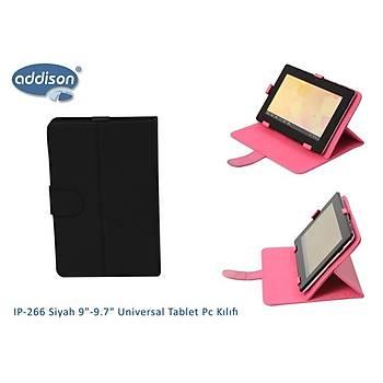 """Addison IP-266 Siyah 9""""-9.7"""" Universal Tablet Pc Kýlýf"""