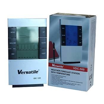 Versalite VDC-500 Digital Göstergeli Alarmlý Termometre Masa Saati