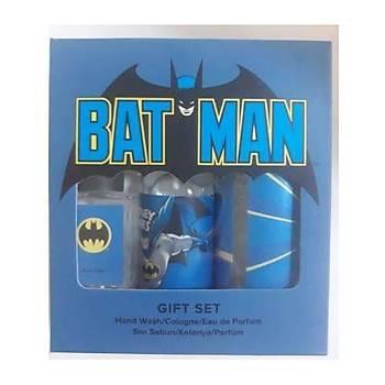 Rebul Warner Bross Batman 3lü Set (EDP 20ml+ EDC 100Ml+ Sývý Sabun 250ml )