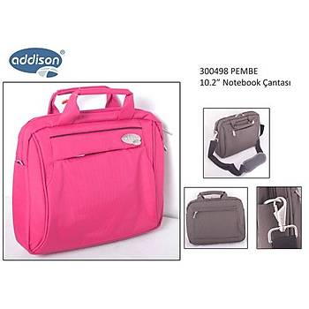 "Addison 300498 10.2"" Pembe Notebook Çantasý"