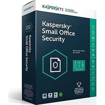Kaspersky Small Office Security 1+5 Dvd Kutu 3 YIL