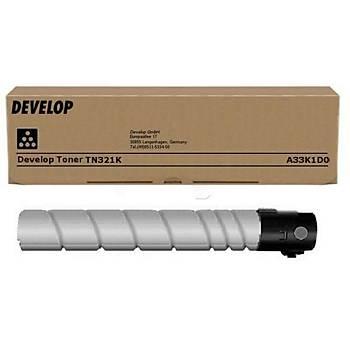 Develop TN-321K Black Siyah Orjinal Fotokopi Toneri Ineo +224-284-364 27.000 Sayfa