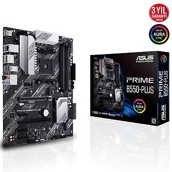 Asus Prime B550-Plus AMD AM4 3.Nesil DDR4 DP HDMI Anakart