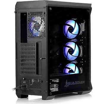 Dark GUARDIAN PRO 4x12cm Adreslenebilir RGB Fan USB3.0 T-Glass ATX Oyuncu Kasasý