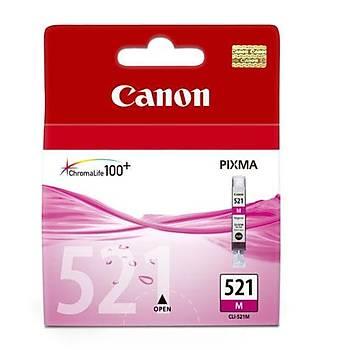 Canon CLI-521M Magenta Kýrmýzý Mürekkep Kartuþ MP260-540-550-560-620-630 MX860-870