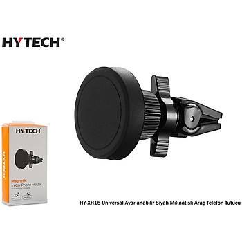 Hytech HY-XH15 Universal Ayarlanabilir Siyah Mýknatýslý Araç Telefon Tutucu
