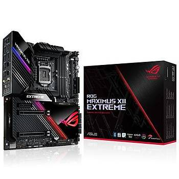 Asus Rog Maximus XII Extreme Intel Z490 10.Nesil Lga1200 DDR4 128GB 4800MHz M.2 Extended Anakart