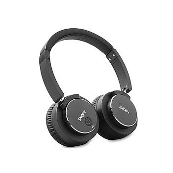 Snopy SN-BT41 Noise Cancelling Siyah Bluetooth Kulaklýk