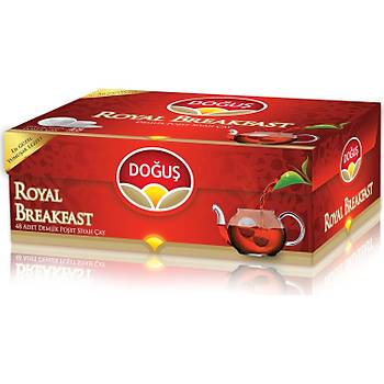Doðuþ Royal Breakfast Demlik Poþet Çay 48x3.2 gr