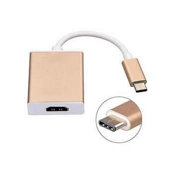 Hytech HY-USBC10 1080p Metal Type-c To Hmdý Adaptör