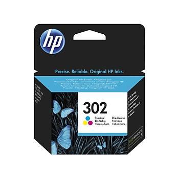 HP 302 Color Renkli Kartuþ F6U65AE
