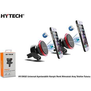 Hytech HY-XH10 Universal Ayarlanabilir Karýþýk Renkli Mýknatýslý Araç Telefon Tutucu