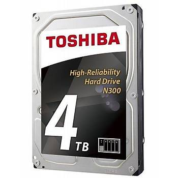 Toshiba 4TB N300 HDWQ140UZSVA 7200RPM 128MB SATA3 Nas Diski