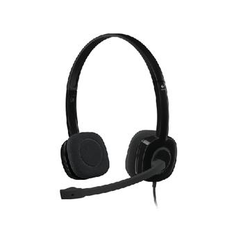 Logitech 981-000589 H151 Mikrofonlu Kulak Üstü Kulaklýk