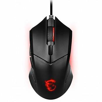 Msi Clutch GM08 3200DPI (Yazýlým ile 4200DPI) 6 Tuþ USB Optik Kablolu Gaming (Oyuncu) Mouse