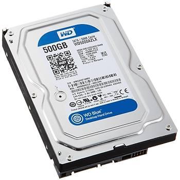 "Wd 500Gb Blue 3,5"" 32Mb 7200Rpm Wd5000Azlx Harddisk"