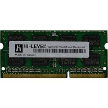 Hi-Level 4Gb 1600Mhz D3 Sodimm 1,35V Low Voltage Notebook Ram