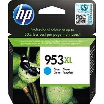 HP 953XL Cyan Mavi Yüksek Kapasite Kartuþ F6U16AE