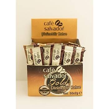 Cafe Salvador Gold 2 gr (Kutuda 50 adet)