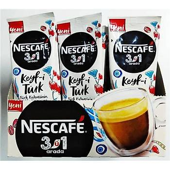 Nestle Nescafe 3ü1 arada 24lü Keyf-i Türk Kahvesi