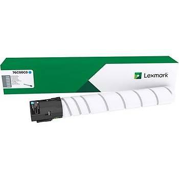 Lexmark 76C00C0 11.500 Cyan Mavi Toner CS921-923 CX920-921-922-923-924  C9235