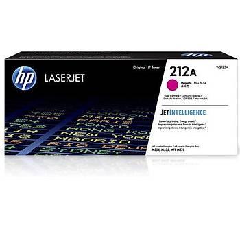 HP 212A Magenta Kýrmýzý 4.500 Sayfa Toner W2123A
