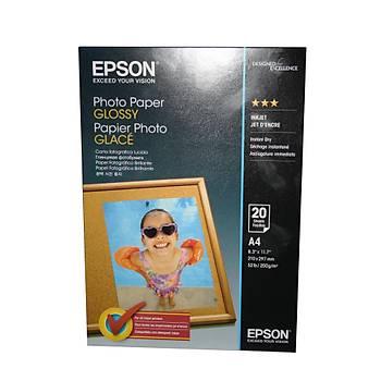 Epson A4 200Gram  20'li Fotoðraf Kaðýdý S042538