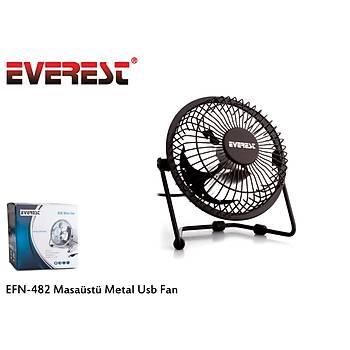 Everest EFN-482 Metal Usb Vantilatör