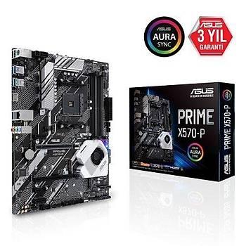 Asus Prime X570-P AMD X570 Soket AM4 DDR4 4400(OC)MHz ATX Gaming Anakart
