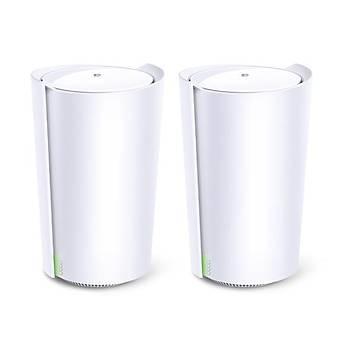 Tp-Link DECO X90 2Li Wi-Fi 6 AX6600 Tüm Evi Kapsayan Mesh Wifi Sistemi